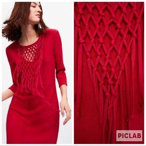 NWT • Zara • Knotted Dress